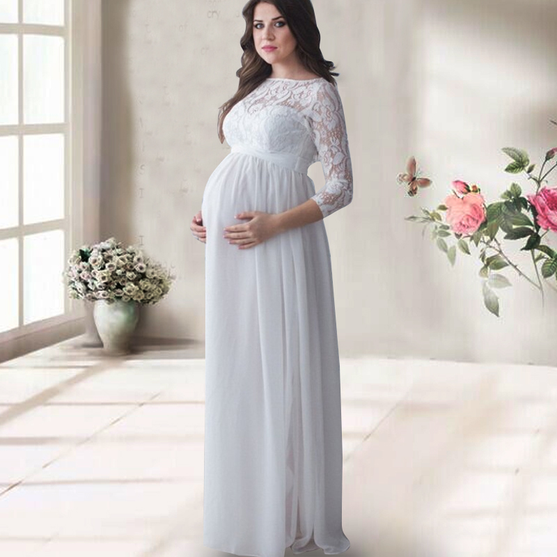 attività apparato barriera  Xiyunle Maternity Dress For Photo Shoot Pregnancy Wear White Long Lace  Evening Party Dresses Clothing Maternity Photograph Props|maternity dress  for photo|maternity dressesclothing maternity - AliExpress