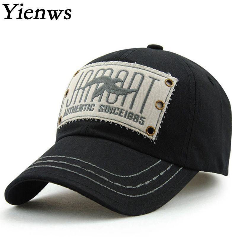 2f15923bf17 Yienws Brand Kpop Fashion Men Snapback Baseball Cap Summer
