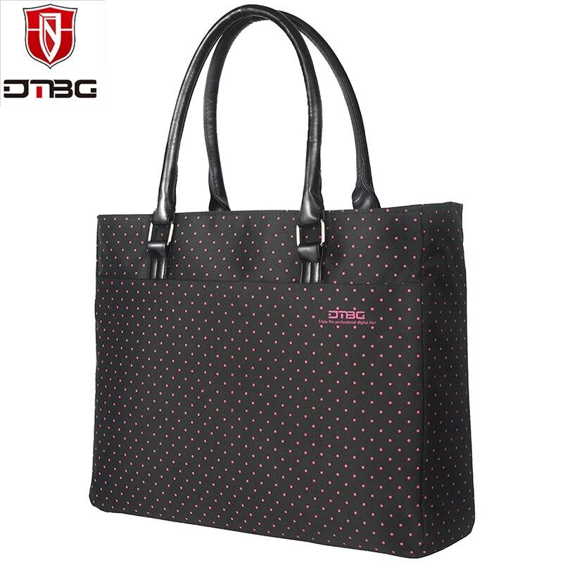 7b492aca4931 BRINCH Women 15.6 inch Laptop Bag Shoulder Handbag Stylish Nylon Zip ...