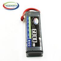 MOSEWORTH 2S RC Drone Lipo battery 7.4v 6000mAh 40C For RC airplane tank car 2s batteria cell AKKU
