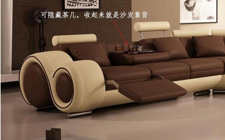 Merveilleux Modern Furniture Sofa Set Leather Sofa Sectional Sofa Home Furniture Sofa  Living Room Sofa Set White Color Sofa In Living Room Sofas From Furniture  On ...