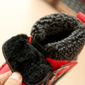 Botas de nieve niños y niñas botas cálido cómodo cómodo antideslizante zapatos de algodón impermeable