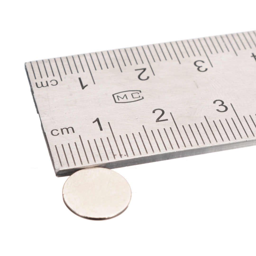 100 piezas 10mm x 1mm N35 imanes súper fuerte ronda imanes de disco fuerte disco redondo de la tierra rara nevera de los imanes de NdFeB
