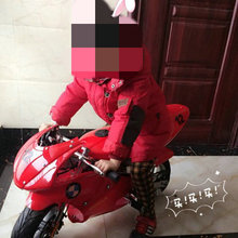 Two-wheeled small off-road mountain mini motorcycle scooter children gasoline go kart adult light sports car 49cc ATV