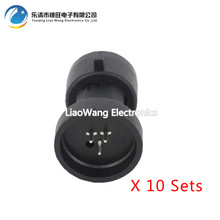 10PCS 3 hole for Buick Excelle throttle temperature sensor connector plug DJ7034Y-1.5-10
