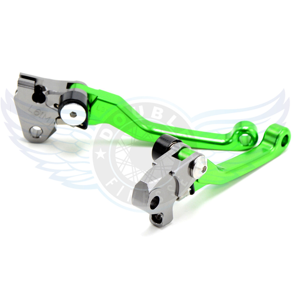 ФОТО hot sale motorcycle accessories Pivot Brake Clutch Levers cnc motorbike brake clutch lever For KTM 500XC-W/EXC 2012-2013