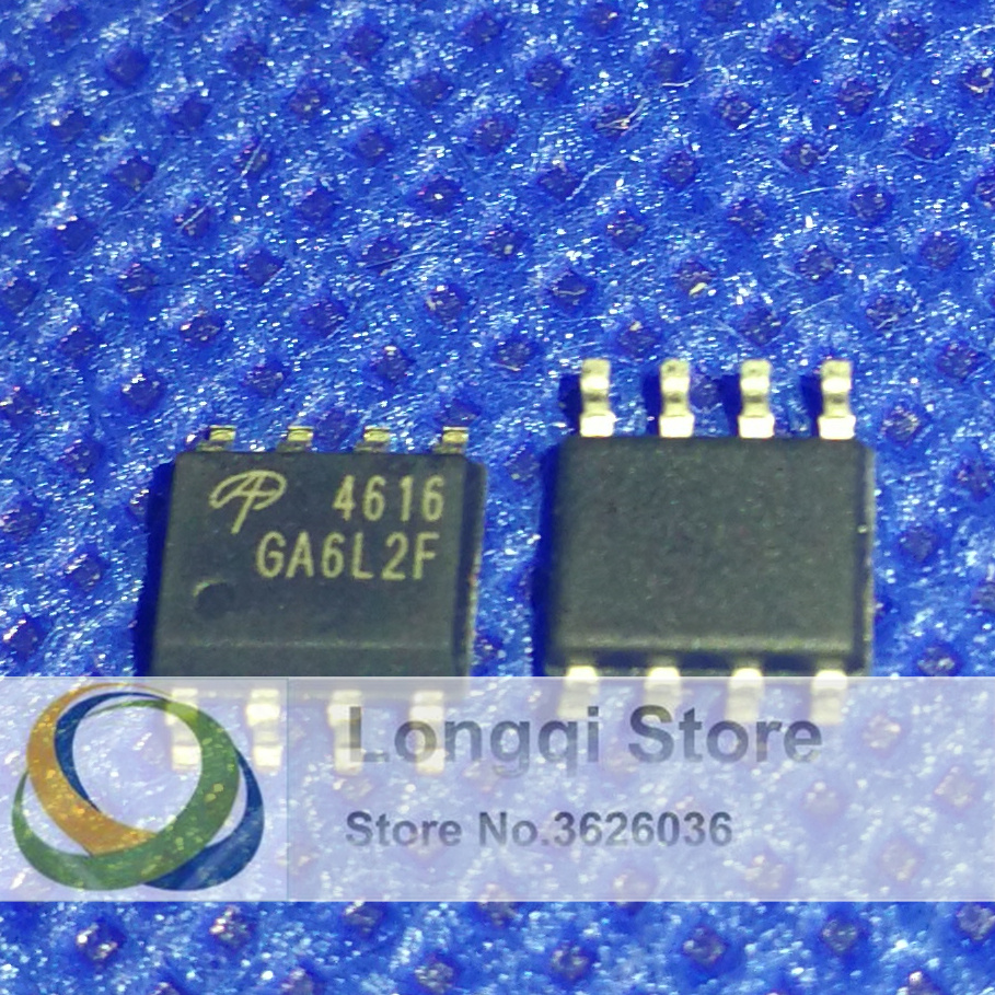 US Stock 10pcs AO4600 SOP8 Complementary Enhancement Mode Field Effect New