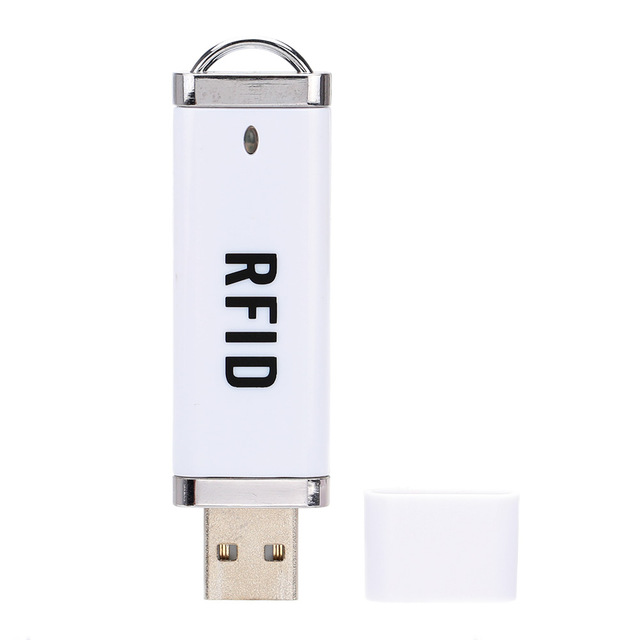 Portable MINI USB RFID IC ID Card Reader 13.56MHz 125Khz Card Reader Play And Plug Non Driver Driverless Card Reader