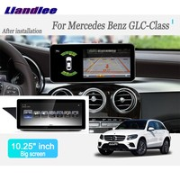 Liandlee Android Car Radio Player For Mercedes Benz GLC Class 2016~2017 GPS Navi Navigation Maps Camera OBD TV Screen no cd dvd