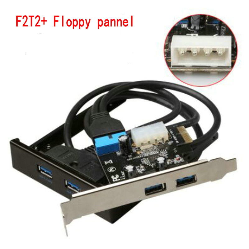 5 Pin Pci Express Adapter 3 Phase Generator Alternator Wiring Diagram 4 Port Usb 3.0 Pcie Control Card Adapter+20pin To 2 Usb3.0 Hub 3.5 Floppy Bay ...