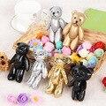 5Pcs/Lot Kawaii Small Joint Teddy Bears Stuffed Plush DIY 11CM Toy Teddy-Bear Mini Bear Ted Bears Plush Toys Wedding Gifts 09501