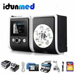 BMC CPAP GII CPAP آلة مع النوم الأنف كامل الوجه وسادة قناع أنابيب جهاز تنفس للنوم توقف التنفس أثناء مكافحة الشخير