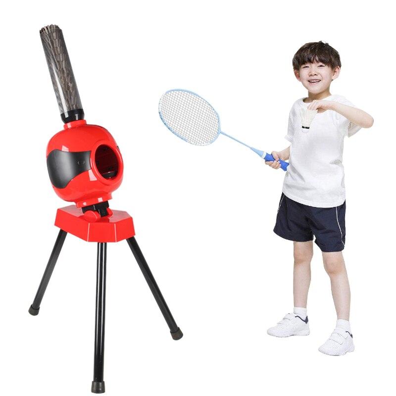 Badminton Automatica servire macchina Per Bambini badminton trainer Portatile badminton formazione di Salute della macchina è il miglior regalo Y