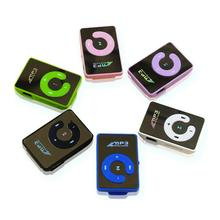 6 Colors Clamps Mini MP3 Player Supporting 8GB TF Card With USB Cable And Earphone Portable High Quality And Brand New 100% brand new and original clarrion 6cd loader pn2815 support mp3