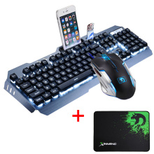 Gaming Keyboard Mouse Combo + Mouse Pad