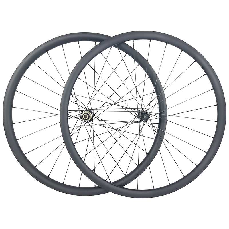 1220g 29er MTB XC GRAVEL tubeless carbon wheels 30mm wide 25mm inner width 30mm deep center