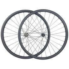 Ruedas de carbono sin cámara para bicicleta de montaña XC, 1220g, 29er, 30mm de ancho, 25mm de anchura interior, cerradura central profunda de 30mm, juego de ruedas de 6 pernos, 15x100, 12x142