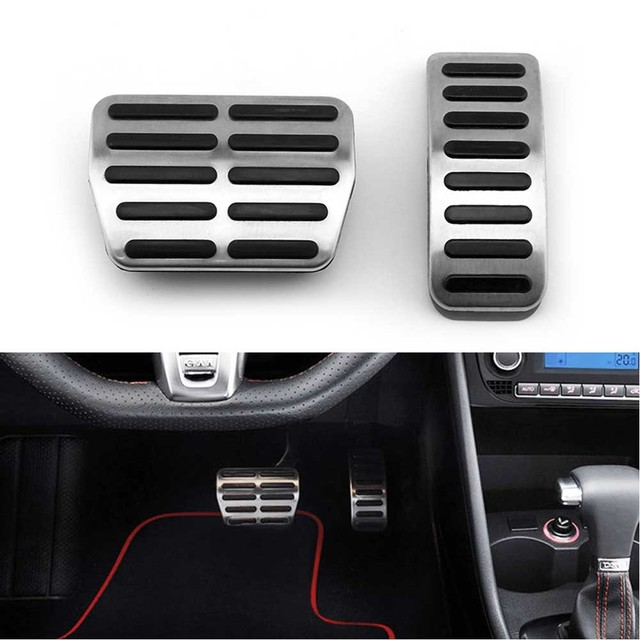 Car Pedal Fit For AT VW Polo Bora Lavida Golf 3 4 MK4  Seat Leon for Audi TT A1 A3 Skoda Fabia  LHD Brake Pads accessories