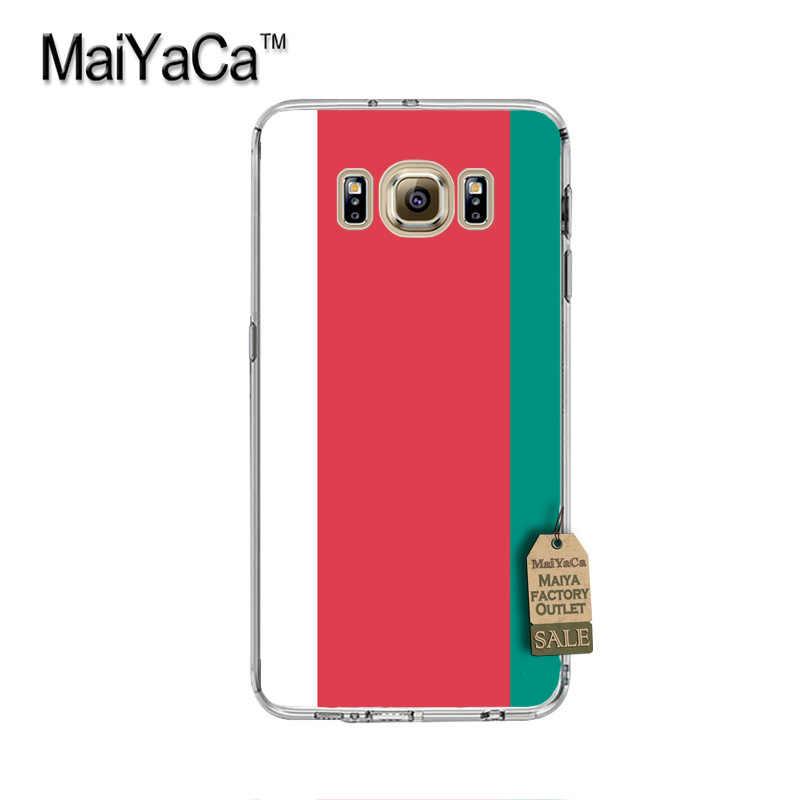 MaiYaCa Retro 70 s paleta de lujo PC teléfono duro caso para cubrir Samsung gaxlay s4 s5 s6 s7 s8 caso