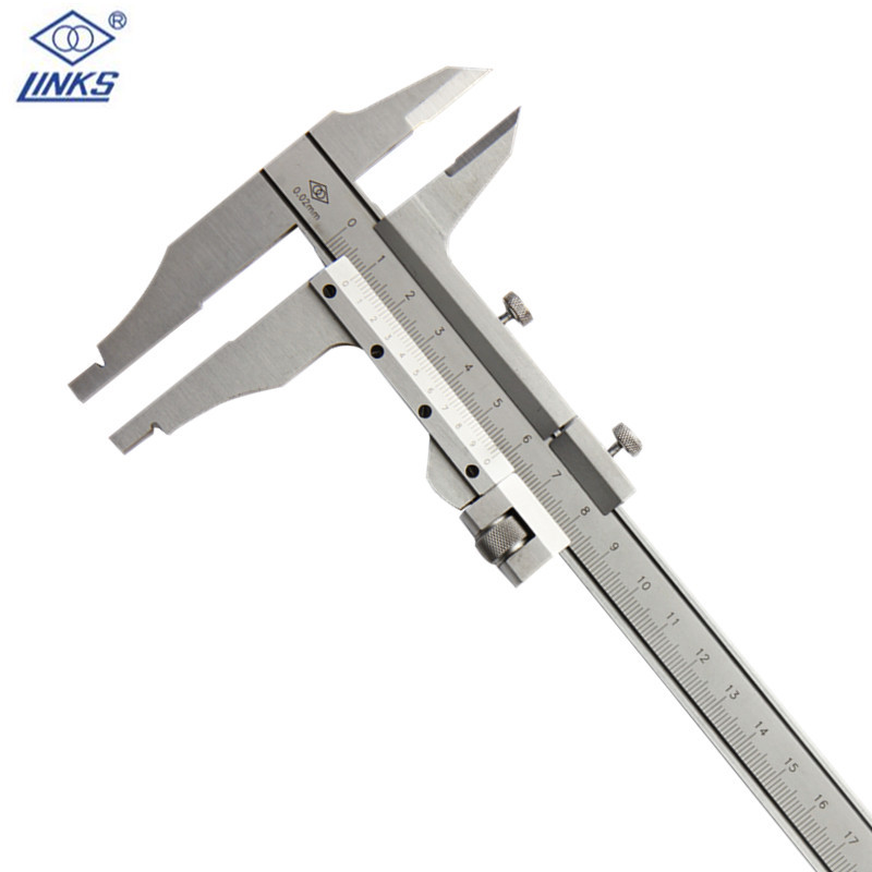 Vernier font b Caliper b font 0 300mm 0 02mm Stainless Steel H Type Measurement Instruments