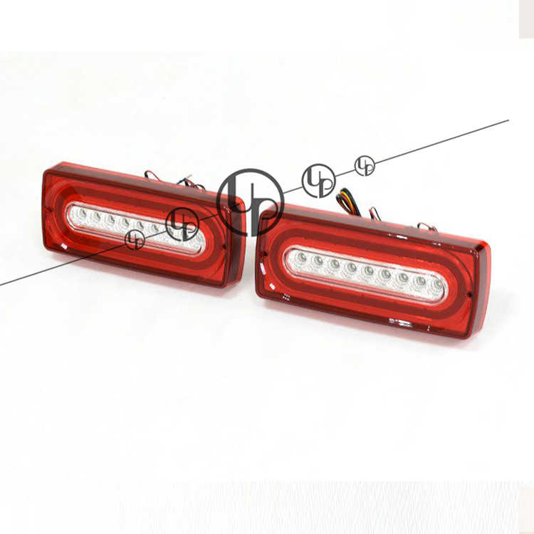 W463 feu arrière G500 G55 G63 G65 feu arrière g63 feu arrière lumière LED rouge tous les wagons g