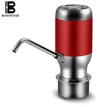 5 V Tragbare Fahrzeug Drahtlose Wiederaufladbare Elektrische Wasserpumpe Magischen Hahn Getränkeautomat Wasserabsorber Saug Wasserhahn Drink