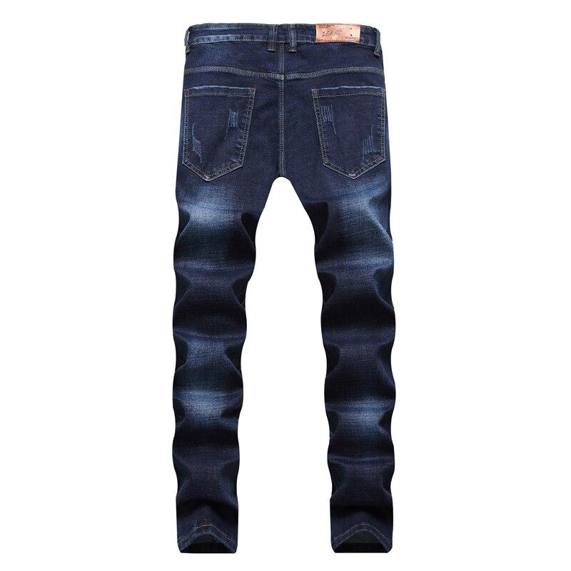 1e55353dd9f5 2017 neue Herren Ripped Jeans Hosen Mit Löchern Super Skinny Slim Fit  Destroyed Distressed Denim Jogger Hosen Für Männer in 2017 neue Herren  Ripped Jeans ...