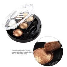 Professional Eyes Makeup Pigment Eyeshadow 5 Colors Eye Shadow Palette Beauty