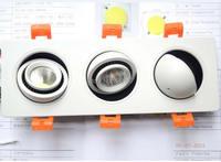 LED Downlight Cob אור Led ספוט ספוט ניתן לעמעום 9 W 15 W 21 W הוביל אורות לבית 110 V 220 V תאורה שקועה