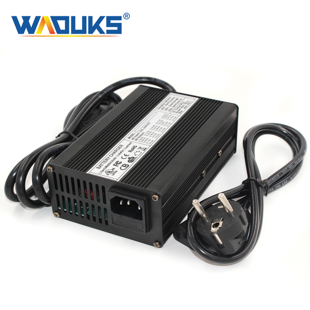 58.4V 2A LiFePO4 Battery Charger For 16S 48V 51.2V LiFePO4 Scooter Battery Pack Power Supply  Charger