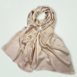 Image 3 - [DANKEYISI] Women Genuine Silk Scarves 100% Natural Silk Scarf Shawls Fashion Pure Color Long Scarf Luxury Brand Neckerchief