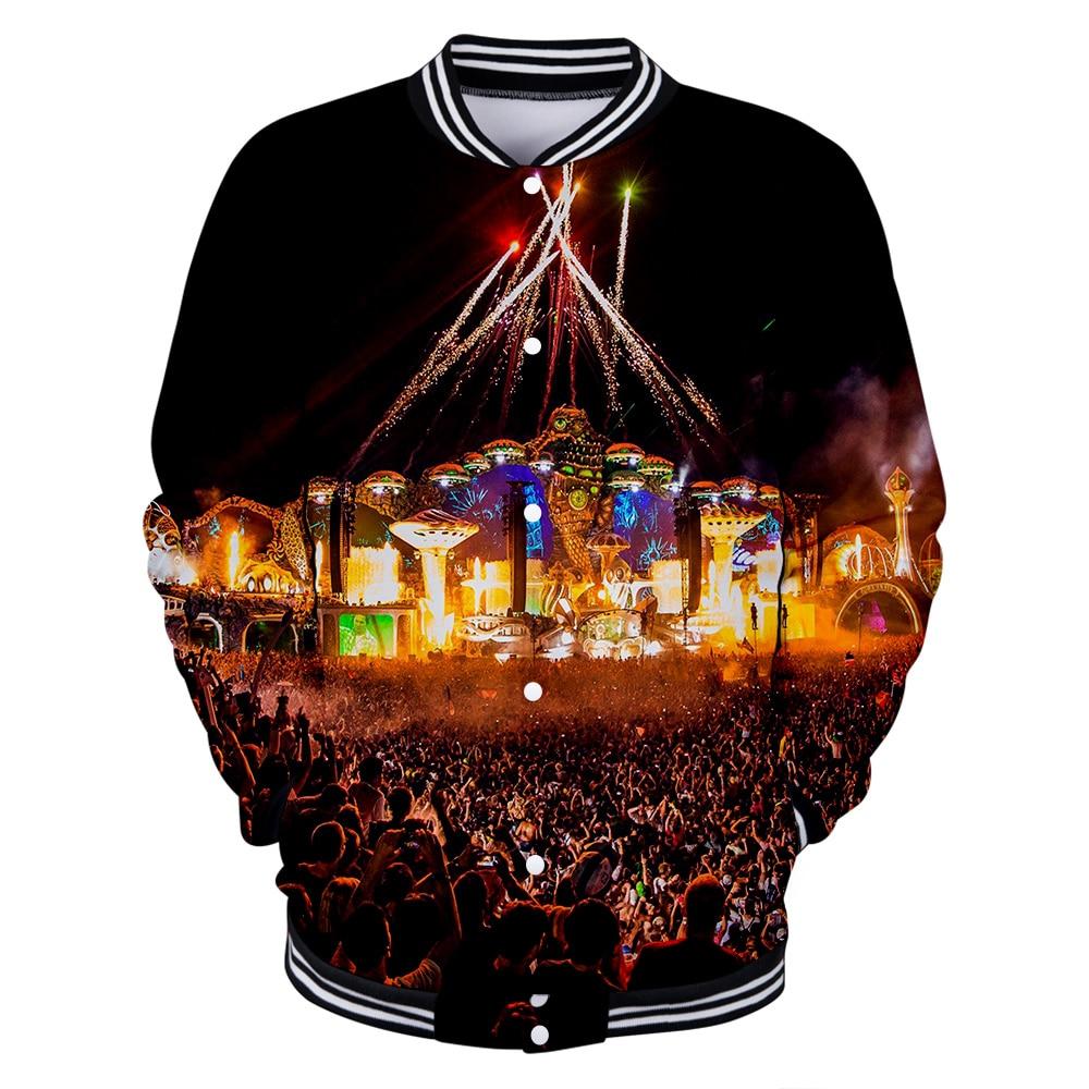 Tomorrowland 3D print Baseball   Jacket     Basic   Popular comfortable High Street Hipster Fashion cool Casual Classic Baseball   Jacket