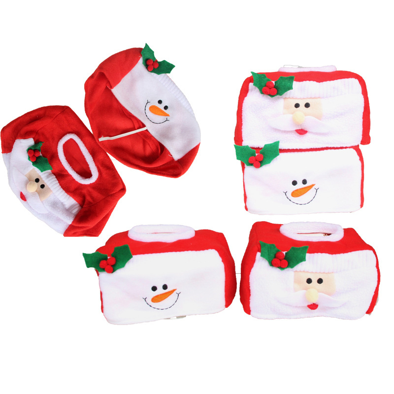 aliexpresscom buy 2018 christmas snowman christmas kleenex facial tissue box decoration paper box sitting room cloth christmas decoration for home from - Snowman Christmas