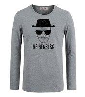 Summer Casual T Shirts Breaking Bad Los Pollos Hermanos Chicken Heisenberg Walter White Graphic Long Sleeves