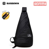 Swisswin Cool Crossbody Shoulder Bag Male Sling Bag Backpack Men Multipurpose Daypack Handbag For Men Women