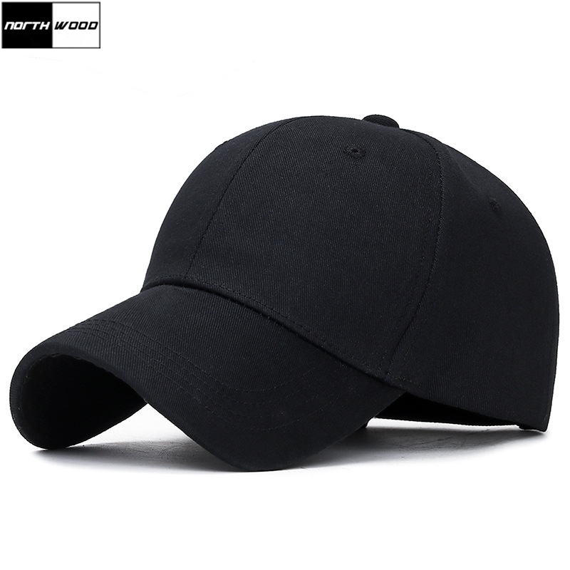 [NORTHWOOD] High Quality Soild Branded Baseball Cap Men Unisex Snapback Hats Bone Masculino Trucker Cap Black Gorras Masculino