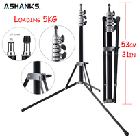 ASHANKS 7ft/210CM Light Stand Tripod for Photo Camera Flash Video Studio Lighting Portable Lightweight Photography Accessories