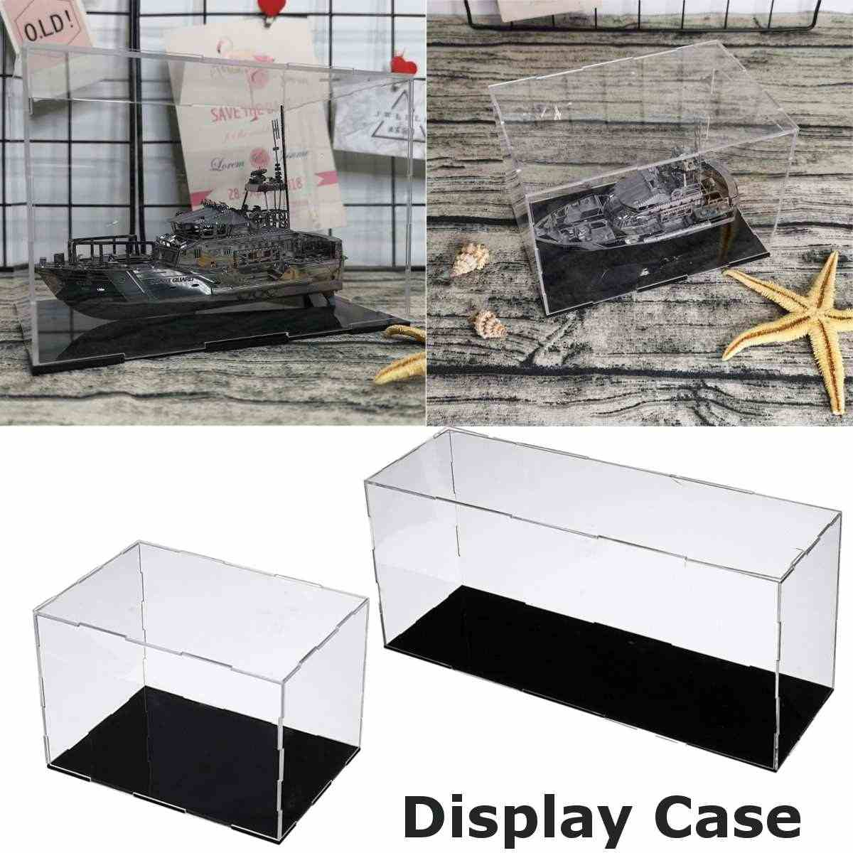 35x10x15/15x10x10cm Acrylic Model Figurine Display Box Show Protection Case Clear Dustproof Crylic Display Big Size Perspex