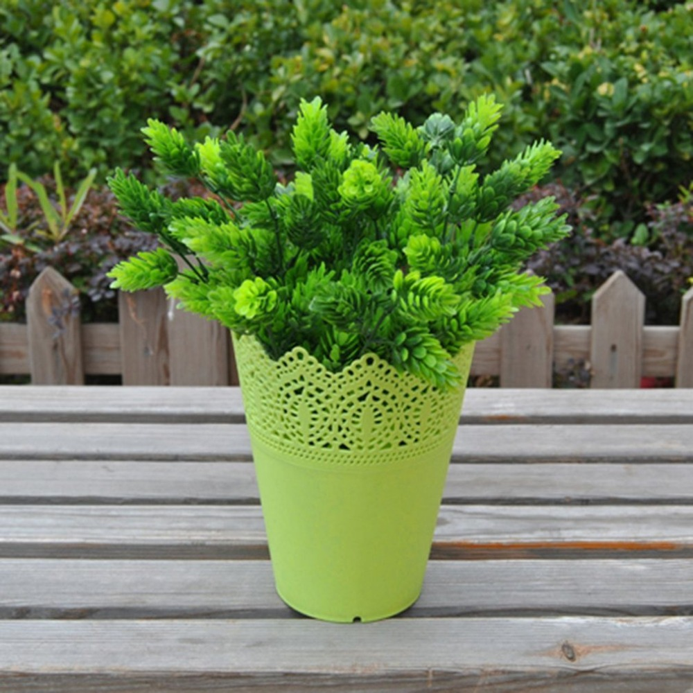 popular yard planters buy cheap yard planters lots from china yard cut out plant vase pot pen makeup brush holder plastic desk tidy organizer yard home decoration