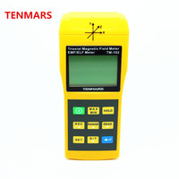Tenmars triaxial المجال المغناطيسي متر emf/elf متر TM-192 3-Axis غاوس متر كاشف الإشعاع الكهرومغناطيسي 30 هرتز-2000 هرتز