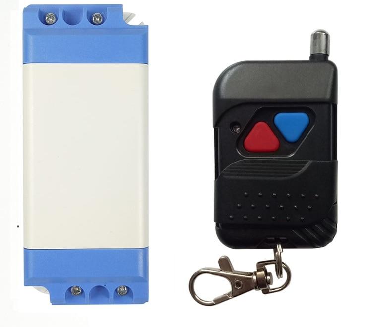 AC220V 110V 10A 1 CH Wireless Learning Code Gate Garage