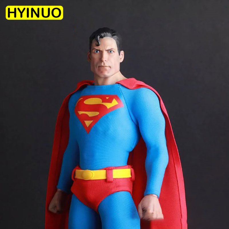 1/6 Scale Superman Action Figure 1978 Christopher Reeve Full Set Doll Collection Model Toys For Collection Toys Gifts For Kids