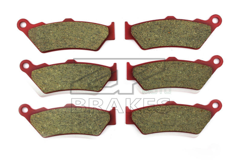 Motorcycle Brake Pads For BIMOTA 1100 DBX 2012-2014 F+R New Ceramic Composite High Quality ZPMOTO motorcycle brake pads ceramic composite for triumph 800 tiger 2011 2014 front rear oem new high quality zpmoto