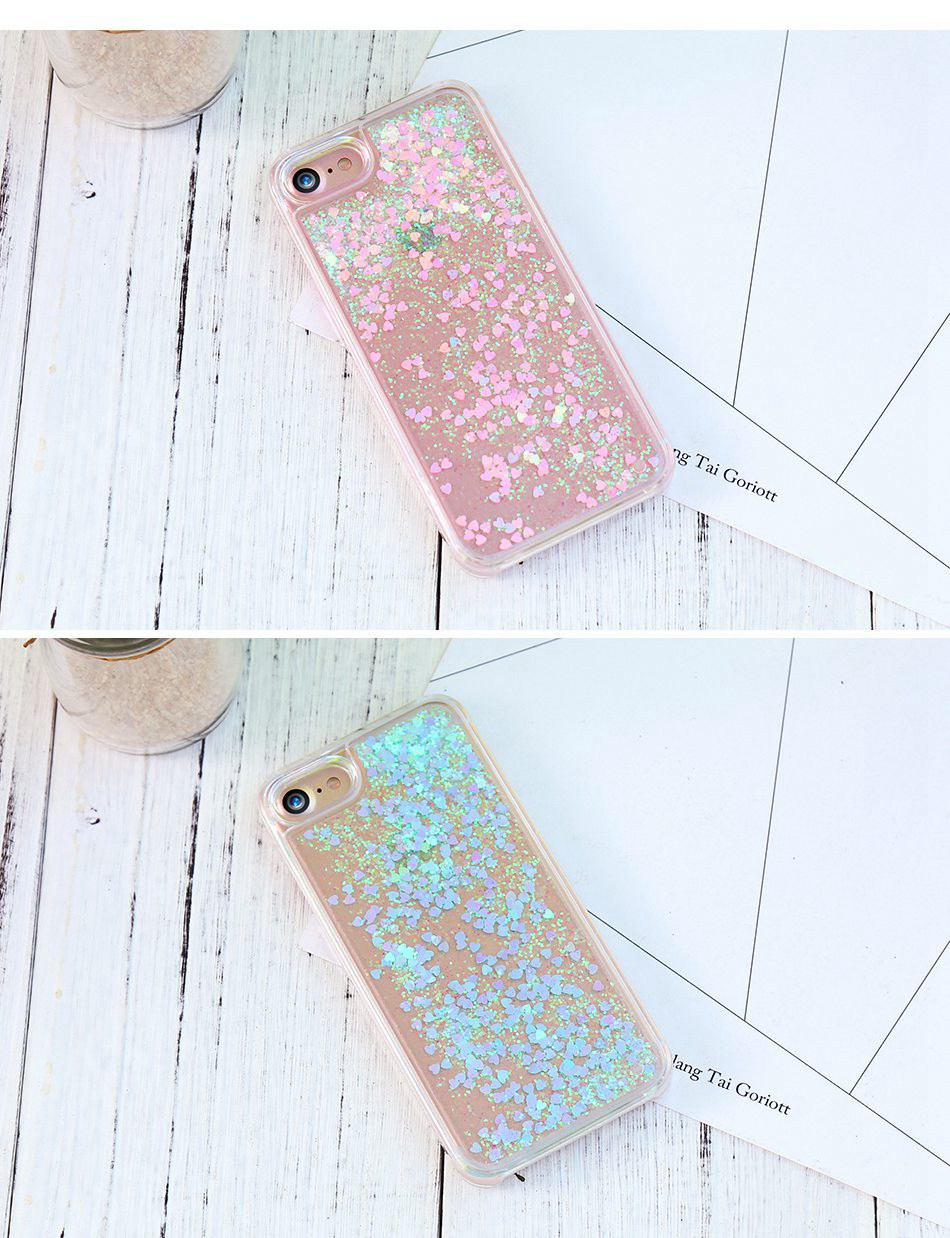 Glitter Quicksand For iPhone 6 6S 7 Plus 5 5S SE 4S Case For Samsung S6 S7 Edge Plus S5 S4 A5 A7 2016 G530 Note 4 5  (8)