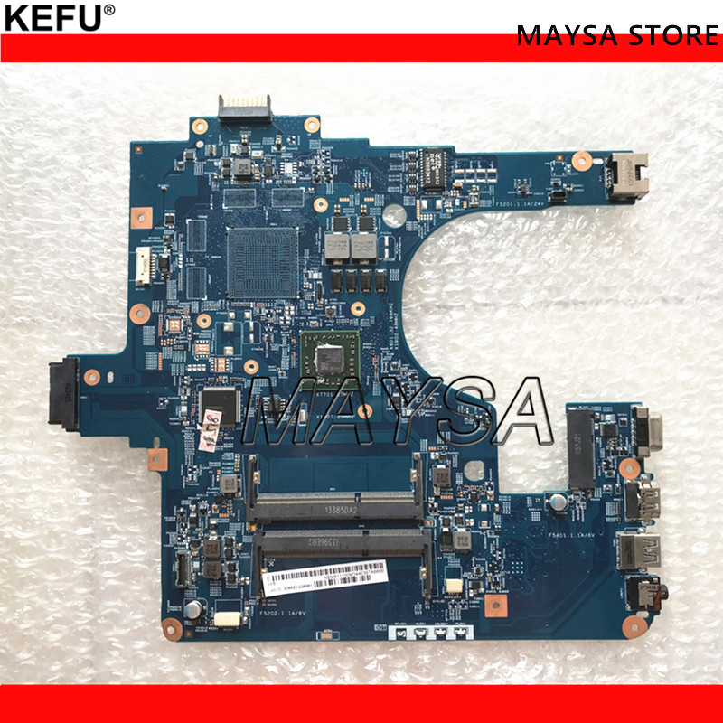 NBM811100M Laptop Motherboard For Acer NE522 E1-522 EG50-KB MB 48.4ZK15.03M With CPU DDR3