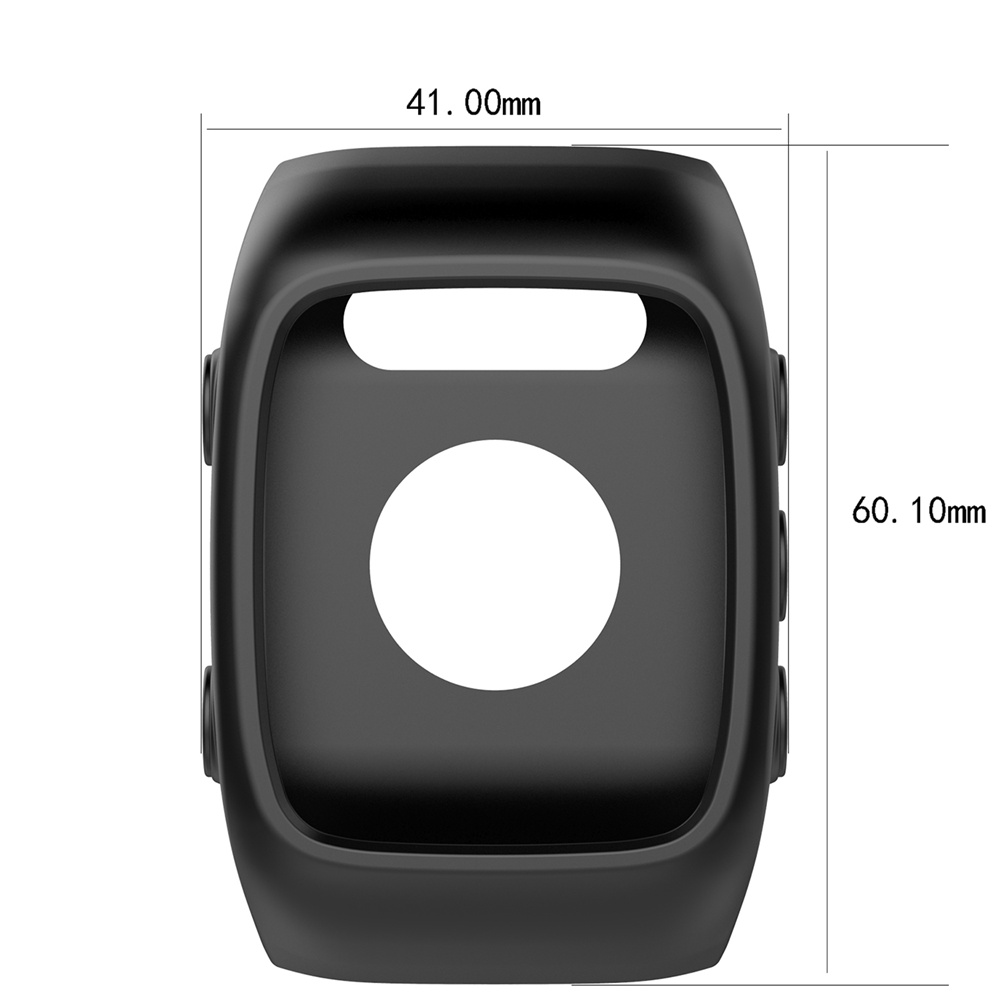 Anti-scratch Housing cases Shell Sleeve Skin silicone soft Cover Case for POLAR M400/POLAR M430 Smartwatch protector frame