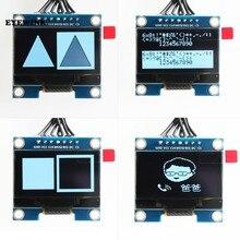 Módulo de exibição oled 1.3 polegada spi interface sh1106 suporta uno tela serial lcd