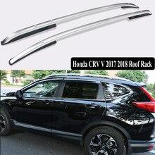 JIOYNG For Honda CRV CR V 2017 2018 Roof Rack Rails Bar Luggage Carrier  Bars Top Cross Racks Rail Boxes Aluminum Screw Fixing