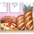 3D имитационный хлеб, плюшевые игрушки 20/30/40 см, мягкая подушка, подушка, кукла, постельные принадлежности, детские игрушки для взрослых