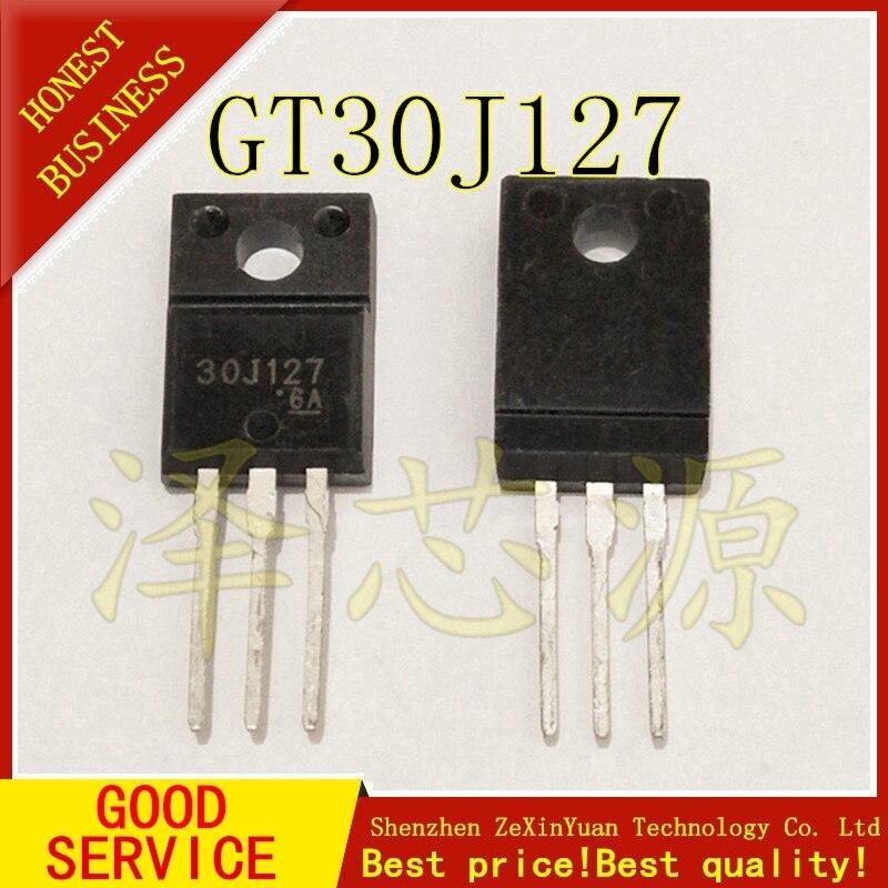 20PCS/LOT 30J127 GT30J127 TO-220F